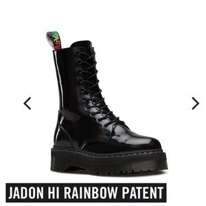 Dr. Martens Jadon Rainbow Hi